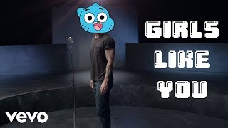 Gumball sings Girls Like You - Maroon 5 ft. Cardi B