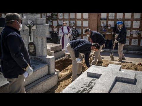 Nuevo récord de muertes en España por COVID-19: 836 personas en 24 horas