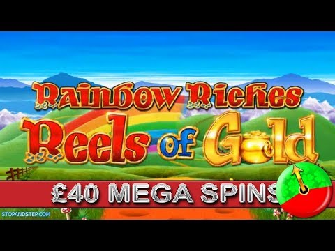 Reels of Gold Mega Spins in Coral Bookies £30 and £40 Stakes.