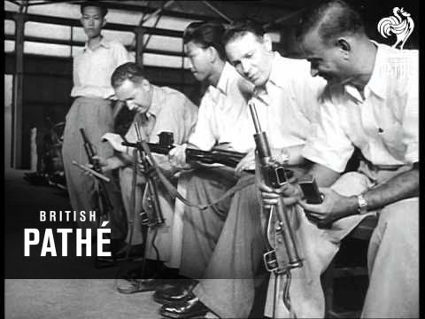 U.S. Carbines To Malayans (1952)