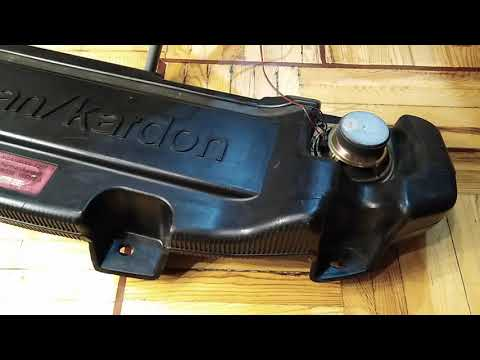 Harman/Kardon Subwoofer For Rover 75 / MG ZT Part Number XQA100000 E26640
