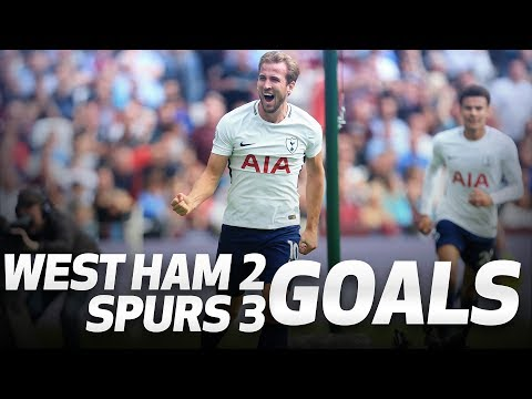 GOALS | West Ham 2-3 Spurs