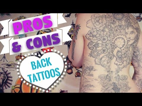 Pros Cons Of Back Tattoos