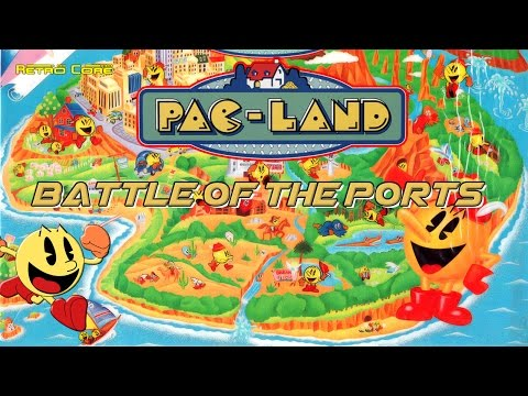 Battle of the Ports - Pac-Land (パックランド) Show #91 60fps