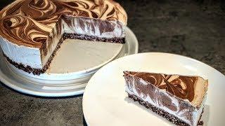 """Chocolate Banana Cashew Cream Cake (Vegan """"Cheesecake"""") Gluten-Free"""