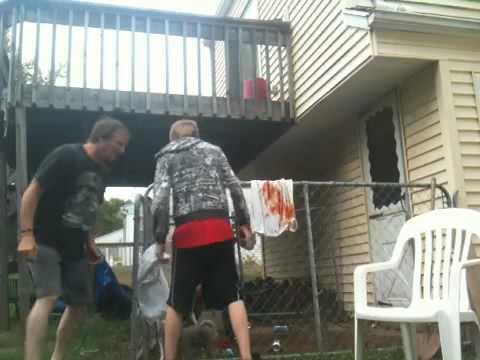 Dog fight gone bad. Gore & violence!!