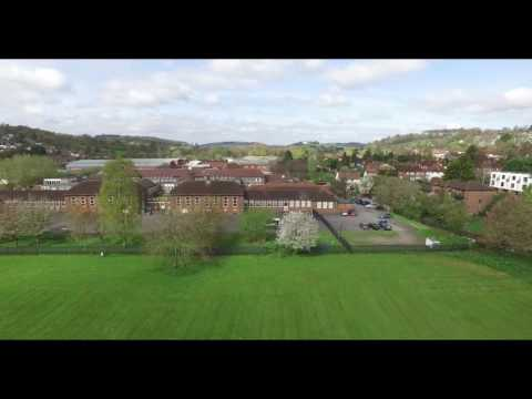 Fryers Lane Park, High Wycombe from the Sky