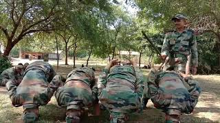 Indian army training 2019