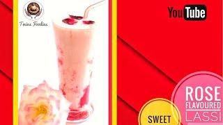 Rose Flavoured Lassi // Punjabi Style Amritsar Lassi Recipe // BY PREETI SEHDEV
