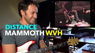 Guitar Teacher REACTS: Mammoth WVH - Distance (OFFICIAL VIDEO)