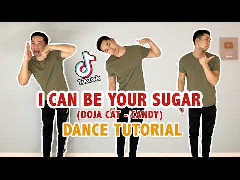I Can Be Your Sugar Dance Tutorial (Step By Step) | Doja Cat Candy Slowed Tik Tok Tutorial