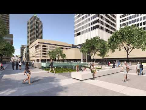 Place Ville Marie in the year 2020