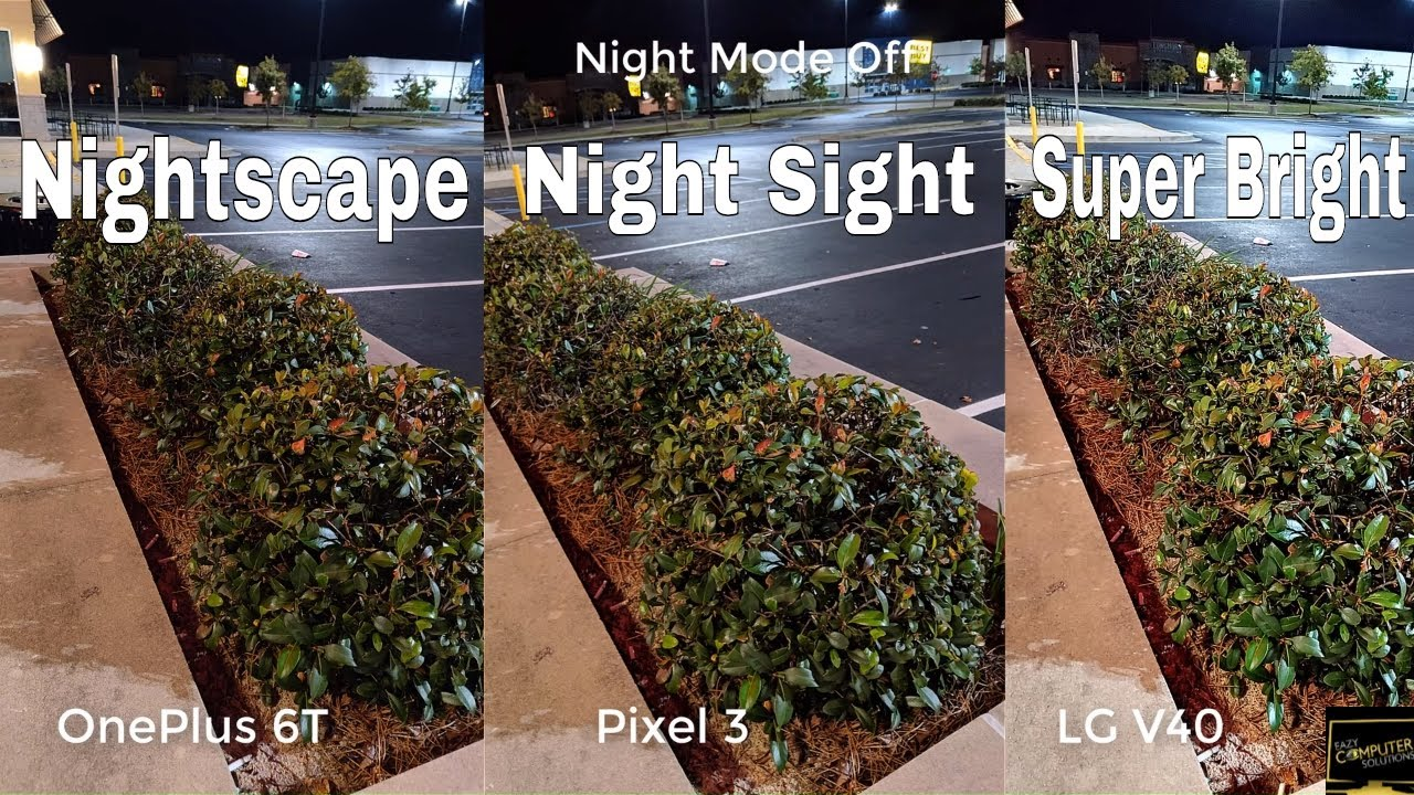 LG V40 Vs Google Pixel 3 Vs OnePlus 6T Cameras NIGHT MODE   How Good Is It  ??   SHOCKING RESULTS!!!