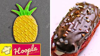 Fruity Royal Icing Cookie + More Yummy Easy Dessert Treats | Hoopla Recipes