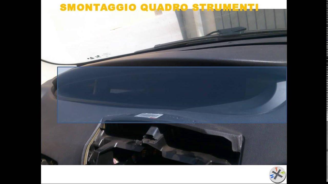 Riparazione Climatizzatore Renault Scenic 2 Smontaggio
