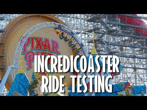 Incredicoaster Vehicle Ride tests  04222018