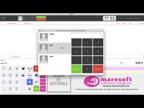TPV con o sin teclado virtual - Maresoft TPV