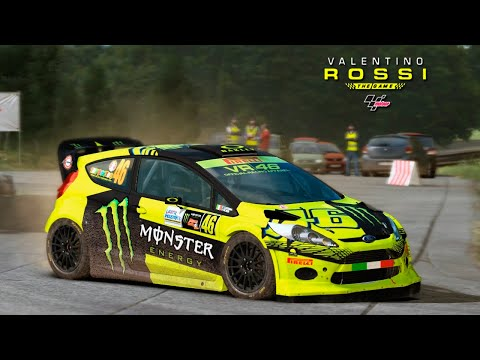 VALENTINO ROSSI THE GAME #3   VR46 FIESTA RS WRC RALLY