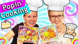 POPIN COOKIN Asia DIY Candy Set testen mit Eva & Kathi   Süßigkeiten aus Japan selber machen deutsch