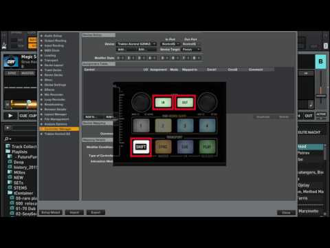 Creating your own key shift mapping in Traktor Pro