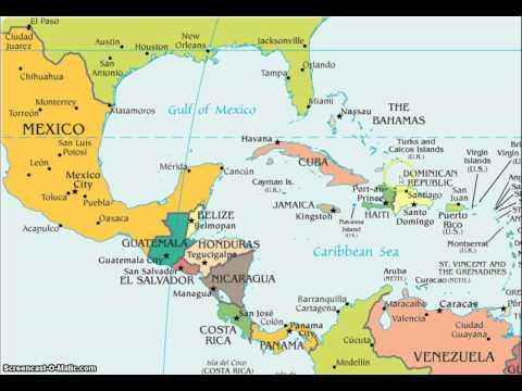 Latin America Map Song
