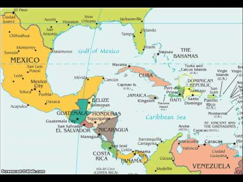 Latin America Map Song