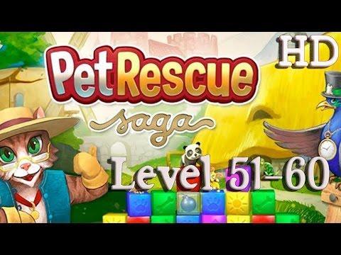 Pet Rescue Saga Level 51-60
