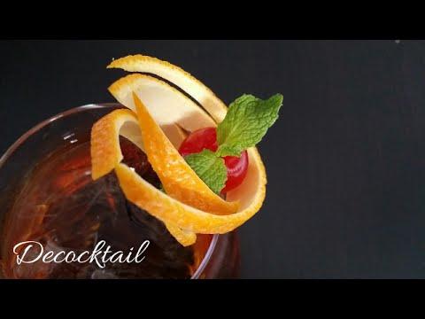 Decoracion para coctel con corteza de naranja youtube for Adornos para cocteles