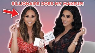 BILLIONAIRE Dorothy Wang Does My Makeup!!!