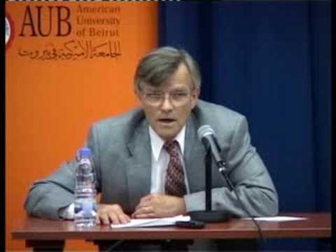 My Journey in Political Economy - John Waterbury