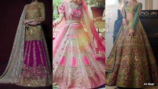 Beautiful Bridal Lehenga Choli Designs - Designer Wedding Dress For Women