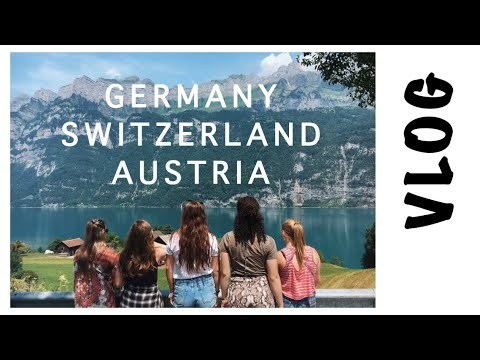 TRAVEL VLOG | Germany, Austria, Switzerland | EF Tour '17