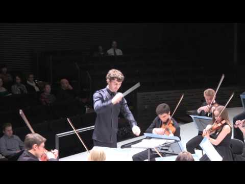 Jaan Ots conducting excerpts of 1st symphony by Gustav Mahler. Helsinki Music Center 28.03.2015.
