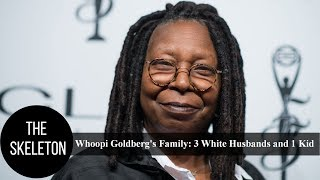 Whoopi Goldberg's Family: 3 White Husbands and 1 Kid