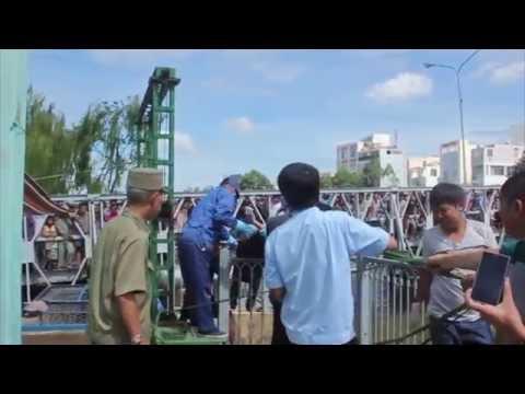 [Xã hội] Phát hiện xác chết trôi trên kênh Nhiêu Lộc
