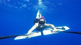 Flying Underwater - Subwing Adventure | Gili T., Indonesia