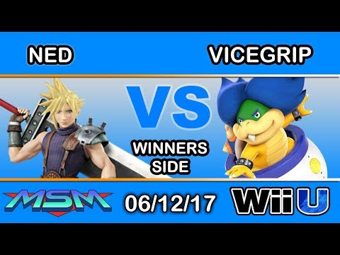 MSM 100 - Ned (Cloud) Vs. ViceGrip (Ludwig) Winners Side