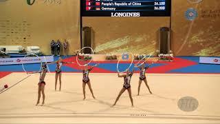 Uzbekistan (UZB) - 2018 Rhythmic Worlds, Sofia (BUL) - Qualifications 5 Hoops