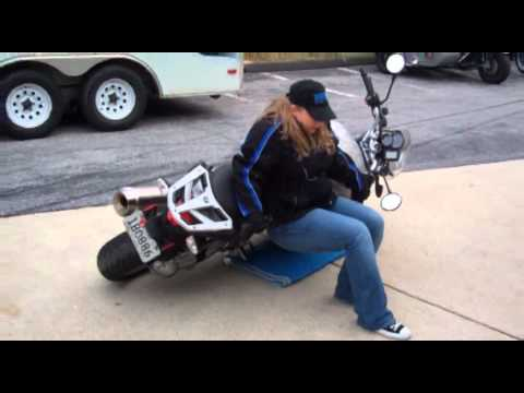 how to lift a bmw r1200r motorcycle | 1.888.bmw.bob's | maryland