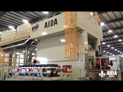 AIDA Servo Press | DSF-M2-15000 | 1,500 Ton Servo Transfer Press