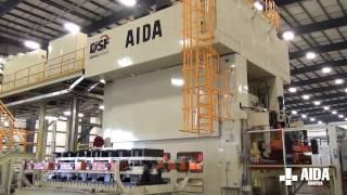 AIDA Servo Press | DSF-M2-15000 | 1,500 Ton Servo Transfer Press