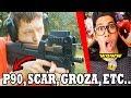FREE FIRE: ARMAS EN LA VIDA REAL (P90, GROZA, SCAR, AK ...
