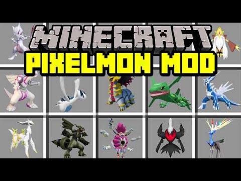 Minecraft PIXELMON MOD! | CATCH NEW MEGA LEGENDARIES & BOSS POKEMON! | Modded Mini-Game