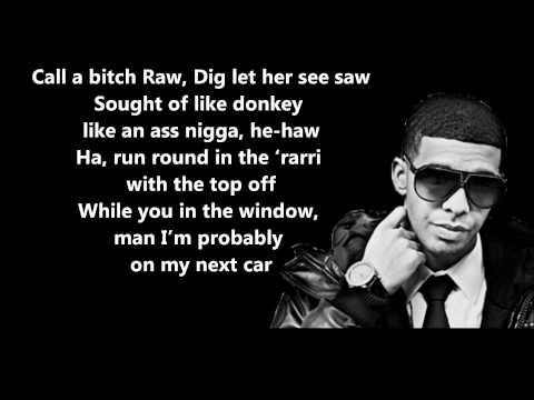 The Motto (YOLO) Remix - Drake Feat. Lil' Wayne & Tyga // Lyrics On Screen [HD]