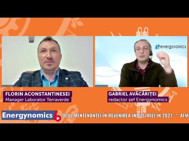 EnergynomicsTalks - Florin Aconstantinesei, Manager Laborator Terraverde