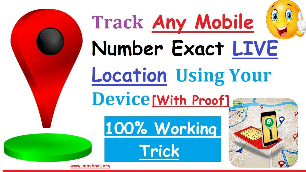 Track Any Mobile Number Current Live Location on Map - Mashnol