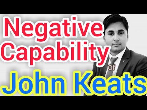 negative capability of john keats basic concept