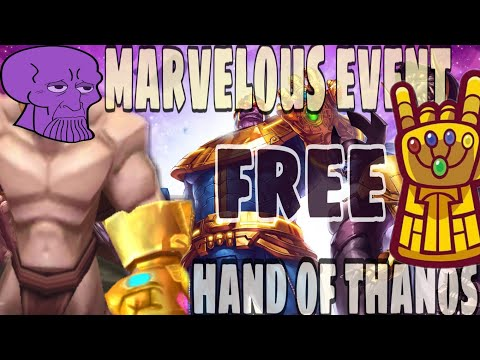 Marvelous Event Arcane Legends.  Free Powerfull Vanity Weapon Hand Of Thanos.