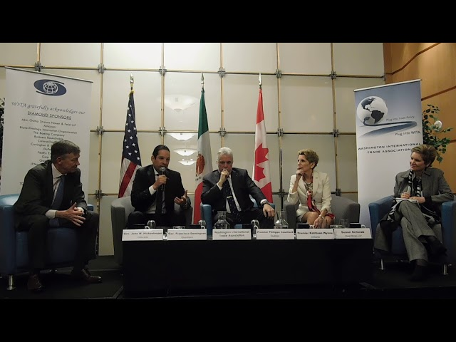 2/23/18 - Governors & Premiers on NAFTA: A View from States and Provinces Pt. 3