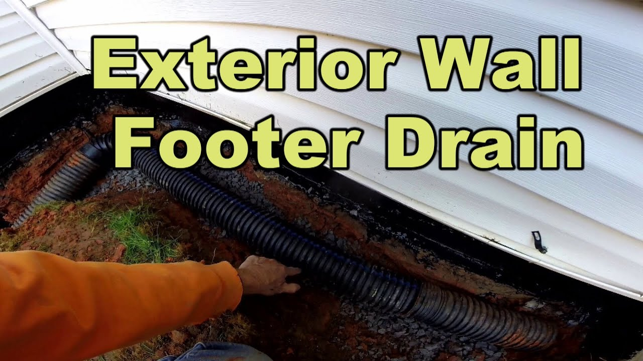 Do it yourself foundation waterproofing exterior wall youtube solutioingenieria Images